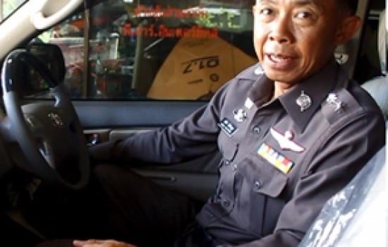 TOD GPS ได้รับความไว้วางใจจาก รองผู้บังคับการตำรวจนครบาลภาค 9 ในการปกป้องรถยนต์ส่วนตัว