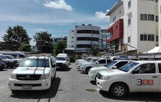 3BB ให้ความไว้วางใจ TOD GPS ในการติดรถบริการของ3BBทั่วประเทศ